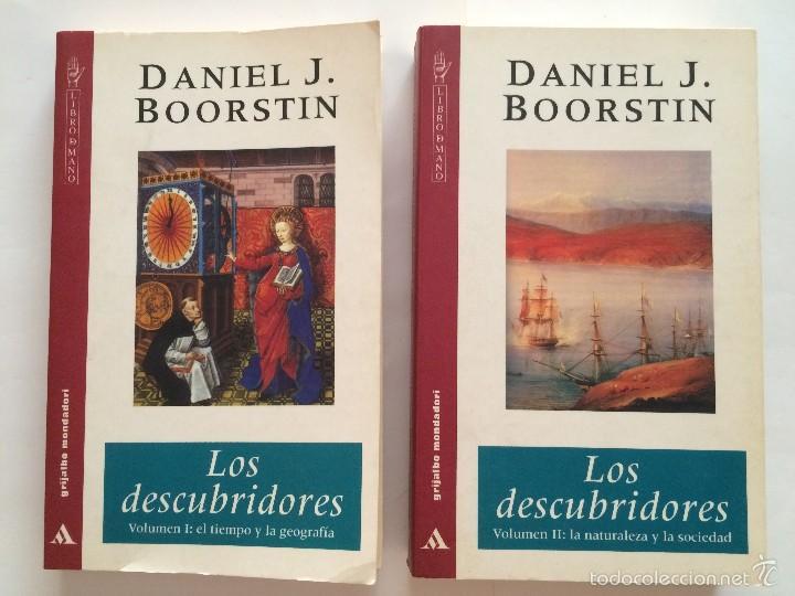 BOORSTIN - LOS DESCUBRIDORES - ED CRITICA 2 TOMOS (Libros de Segunda Mano - Historia - Otros)