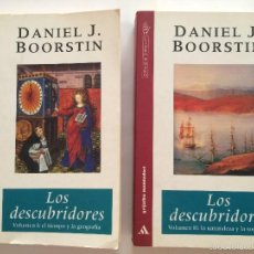 Libros de segunda mano: BOORSTIN - LOS DESCUBRIDORES - ED CRITICA 2 TOMOS. Lote 55714329