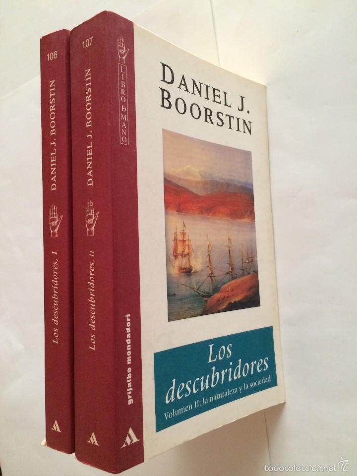 Libros de segunda mano: Boorstin - Los Descubridores - Ed Critica 2 tomos - Foto 2 - 55714329