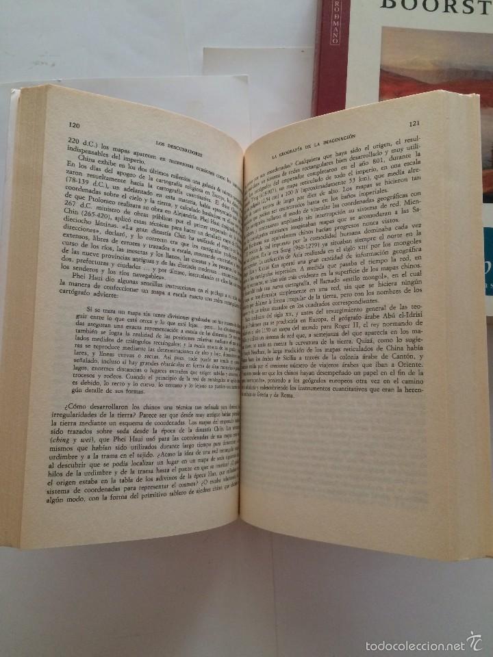 Libros de segunda mano: Boorstin - Los Descubridores - Ed Critica 2 tomos - Foto 5 - 55714329