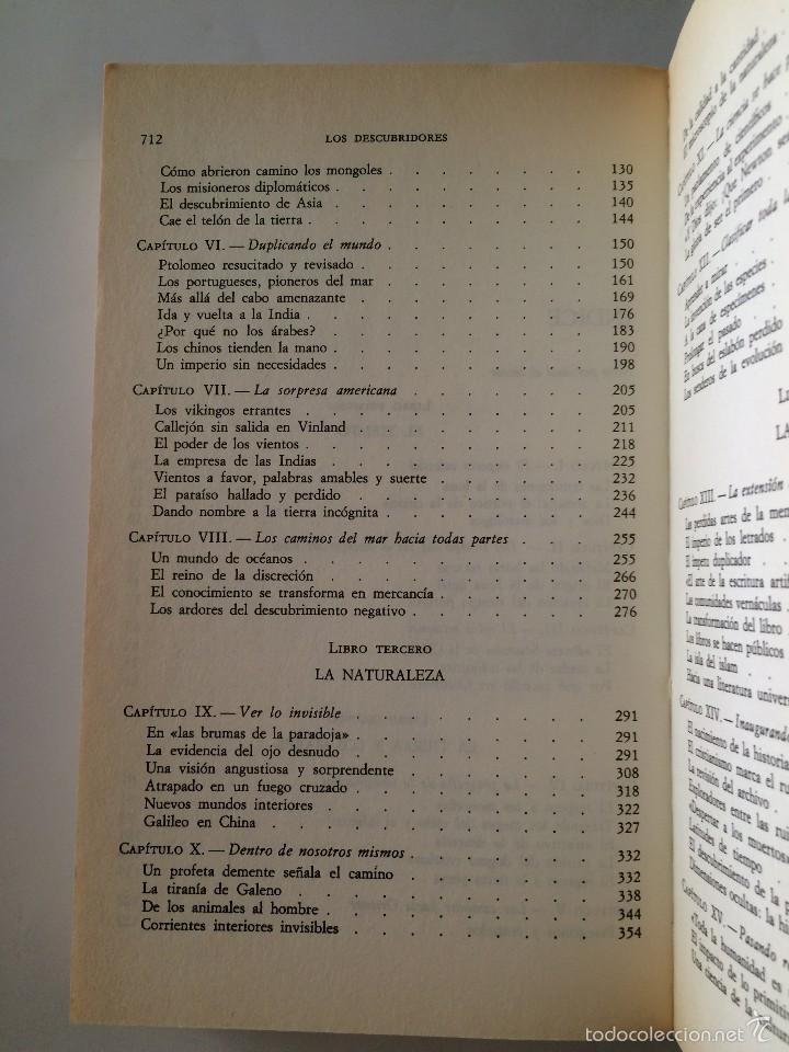 Libros de segunda mano: Boorstin - Los Descubridores - Ed Critica 2 tomos - Foto 10 - 55714329