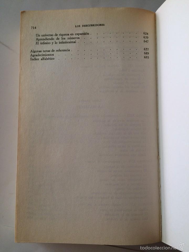 Libros de segunda mano: Boorstin - Los Descubridores - Ed Critica 2 tomos - Foto 12 - 55714329