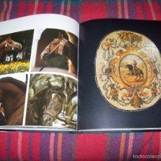 Libros de segunda mano: CABALLOS EN ESPAÑA.J.A GABRIEL / ÁLVARO DE DOMECQ.FOTO :JUAN SALVADÓ.ED. LUNWERG.EDICIÓN DE LUJO!!!!. Lote 55716543