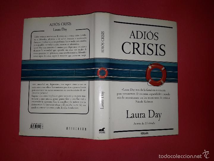 Libros de segunda mano: ADIÓS CRISIS DE LAURA DAY - Foto 2 - 53043183