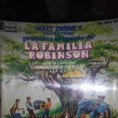 Libros de segunda mano: LA FAMILIA ROBINSON WALT DISNEY . Lote 55797525