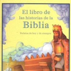 Libros de segunda mano: EL LIBRO DE LAS HISTORIAS DE LA BIBLIA (EDICIONES B, 2002)ILUSTRADO POR DAVID MOLINERO GRAN FORMATO. Lote 55826341
