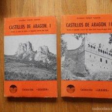 Libros de segunda mano: CASTILLOS DE ARAGON 2 TOMOS, CRISTOBAL GUITART APARICIO, LIBRERIA GENERAL, COLECCION ARAGON. Lote 55861545