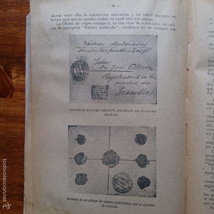 Libros de segunda mano: CONTESTACIONES ADAPTADAS PROGRAMA LEGISLACION DE CORREOS. CUERPO MIXTO DE AUXILIARES 1942 - Foto 3 - 55884603