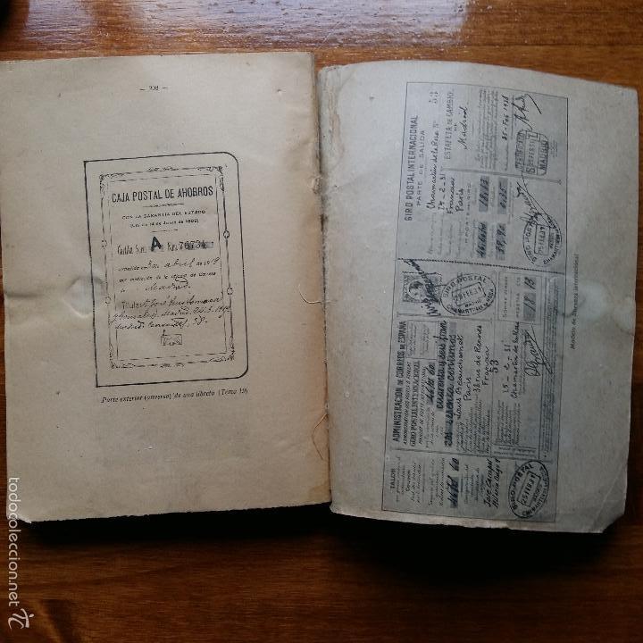 Libros de segunda mano: CONTESTACIONES ADAPTADAS PROGRAMA LEGISLACION DE CORREOS. CUERPO MIXTO DE AUXILIARES 1942 - Foto 4 - 55884603