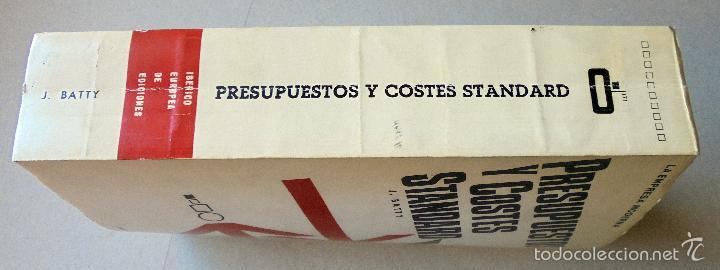 Libros de segunda mano: Presupuestos y Costes Standard--La empresa moderna-- - Foto 2 - 55935784