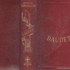 Libros de segunda mano: DAUDET. JACK. EL NABAB. CARTAS DESDE MI MOLINO. COL. OBRAS INMORTALES. MADRID, 1962.. Lote 55779594