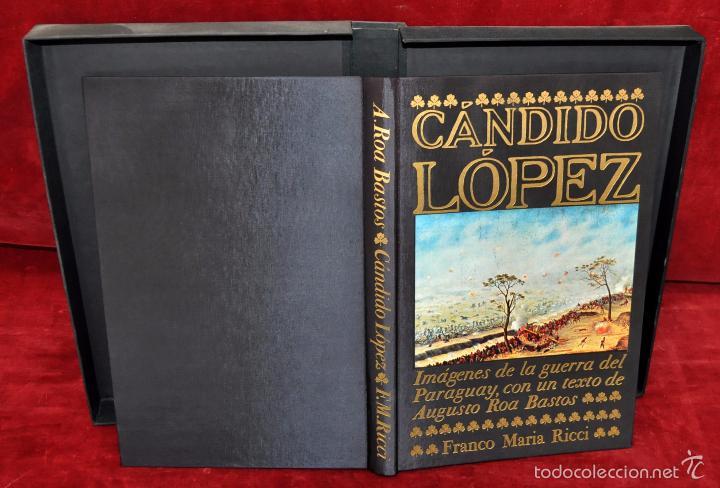 Libros de segunda mano: CÁNDIDO LÓPEZ. LOS SIGNOS DEL HOMBRE. FRANCO MARIA RICCI (FMR) - Foto 2 - 119425010