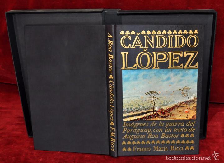 Libros de segunda mano: CÁNDIDO LÓPEZ. LOS SIGNOS DEL HOMBRE. FRANCO MARIA RICCI (FMR) - Foto 3 - 119425010