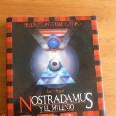 Libros de segunda mano: NOSTRADAMUS Y EL MILENIO. JOHN HOGUE. CIRCULO DE LECTORES 1991 207PP. Lote 55968398