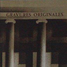 Libros de segunda mano: MAITRES-GRAVEURS CONTEMPORAINS 1974, CATÁLOGO BERGGRUEN. LITOGRAFÍA ORIGINAL PETER PAUL EN CUBIERTA. Lote 56001346