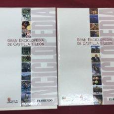 Libros de segunda mano: GRAN ENCICLOPEDIA DE CASTILLA Y LEÓN. 2003. FASCÍCULOS DE EL MUNDO. Lote 56004198