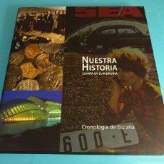 Libros de segunda mano: CRONOLOGÍA DE ESPAÑA. NUESTRA HISTORIA. ESPAÑA EN SU MEMORIA. Lote 56017307