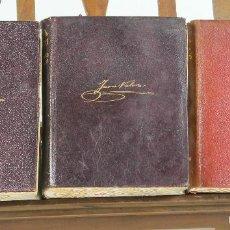Libros de segunda mano: 7345 - OBRAS COMPLETAS 3 TOMOS(VER DESCRIP). JUAN VALERA. EDI. AGUILAR. 1942-1947.. Lote 151123698