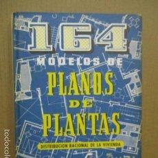 Libros de segunda mano: MONOGRAFÍAS CEAC (164 MODELOS DE PLANOS DE PLANTAS...) ANSELMO RODRÍGUEZ.. Lote 56088645