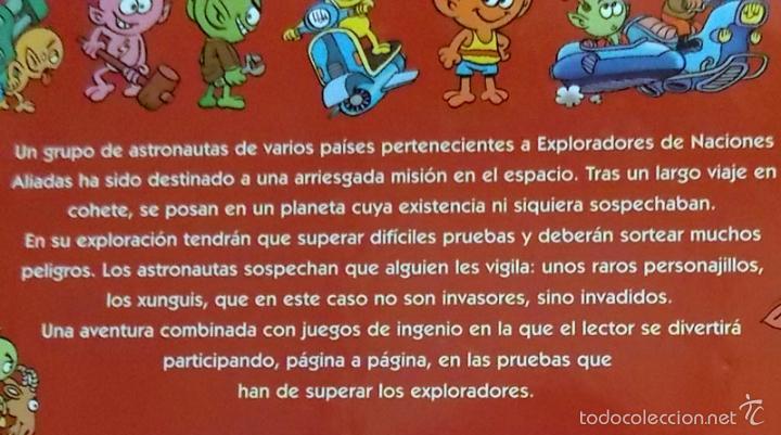 Libros de segunda mano: MISIÓN PLANETA XUNGUI - LIBRO JUEGO - INFANTIL ILUSTRADO - RAMIS CERA - LOS XUNGUIS - JUGUETE BUSCAR - Foto 2 - 56098062
