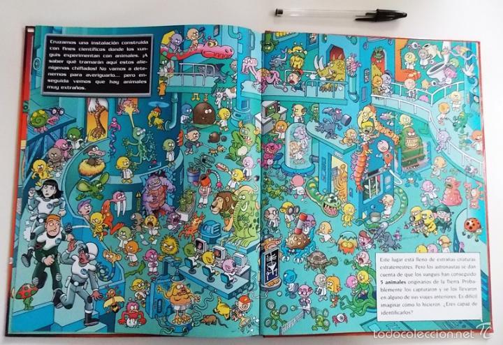 Libros de segunda mano: MISIÓN PLANETA XUNGUI - LIBRO JUEGO - INFANTIL ILUSTRADO - RAMIS CERA - LOS XUNGUIS - JUGUETE BUSCAR - Foto 3 - 56098062