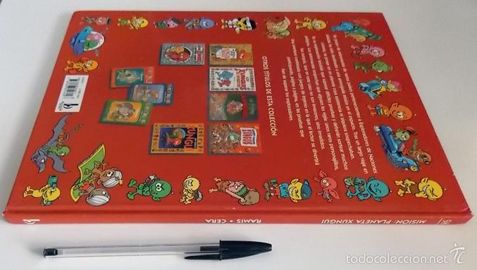 Libros de segunda mano: MISIÓN PLANETA XUNGUI - LIBRO JUEGO - INFANTIL ILUSTRADO - RAMIS CERA - LOS XUNGUIS - JUGUETE BUSCAR - Foto 6 - 56098062