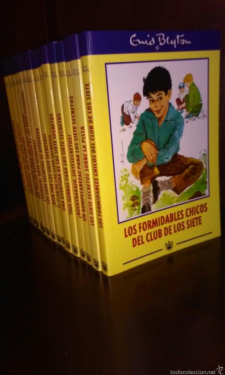Colecci n del club de los siete secretos de eni comprar en todocoleccion 56099992 - Libreria segunda mano online ...