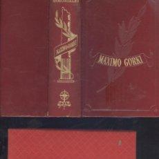 Libros de segunda mano: MÁXIMO GORKI. OBRAS ESCOGIDAS. COL. OBRAS INMORTALES. MADRID, 1962.. Lote 55779556