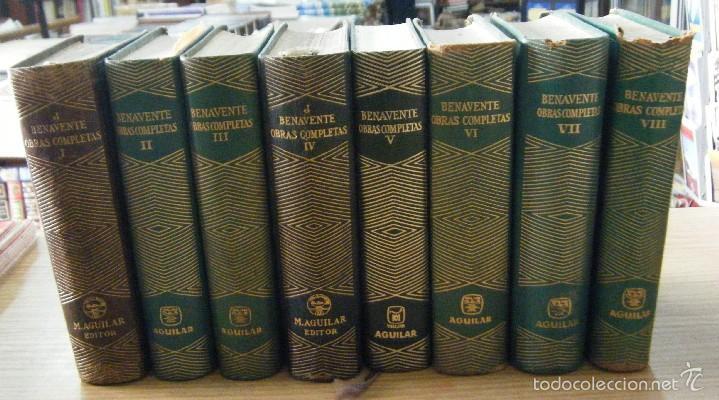 OBRAS COMPLETAS. 8 TOMOS, DEL I AL VIII. JACINTO BENAVENTE A-AGUI-301 (Libros de Segunda Mano (posteriores a 1936) - Literatura - Otros)
