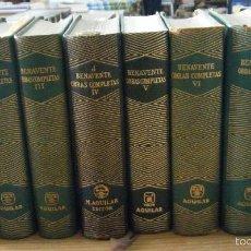 Libros de segunda mano: OBRAS COMPLETAS. 8 TOMOS, DEL I AL VIII. JACINTO BENAVENTE A-AGUI-301. Lote 8466709