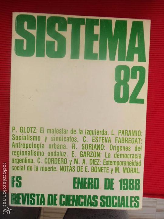 SISTEMA 82 (Libros de Segunda Mano - Ciencias, Manuales y Oficios - Otros)