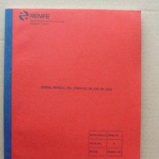 Libros de segunda mano: MANUAL TÉCNICO DEL CIRCUITO DE VÍA SIN JUNTAS FS 2000 - RENFE - FERROCARRIL. Lote 56157966