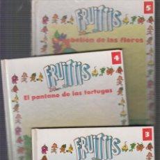 Libros de segunda mano: FRUITTIS - LOTE DE 3 EJEMPLARES ( Nº 3, 4, 5, ) - EDITA : ORBIS 1991. Lote 27392083