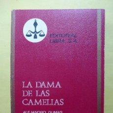 Libros de segunda mano: COLECCIÓN PURPURA Nº 38. LA DAMA DE LAS CAMELIAS. ALEJANDRO DUMAS. . Lote 56230418