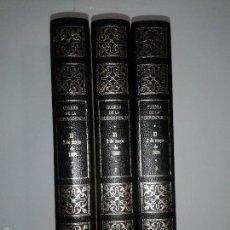 Libros de segunda mano: GUERRA DE LA INDEPENDENCIA EL 2 DE MAYO DE 1808 VOLUMEN I, II Y III 1974 CONDE DE TORENO . Lote 56278820