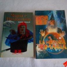 Libros de segunda mano: MAGIA E ILUSIONISMO + HISTORIA DE LA MAGIA. Lote 56295999