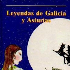 Libros de segunda mano: LEYENDAS DE GALICIA Y ASTURIAS - ILUSTRACIONES DE MARÍA ÁNGELES TOMÁS. EDITORIAL LABOR, 1988. Lote 56300516
