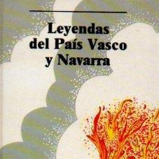 Libros de segunda mano: LEYENDAS DEL PAÍS VASCO Y NAVARRA - ILUSTRACIONES DE MARÍA ÁNGELES TOMÁS. EDITORIAL LABOR, 1988. Lote 56300566