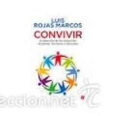 Libros de segunda mano: CONVIVIR,LUIS ROJAS MARCOS,BOLSILLO. Lote 56380250