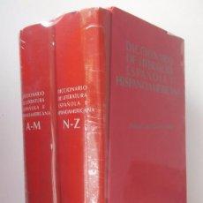 Libros de segunda mano: GULLÓN, R. (DIR.): DICCIONARIO DE LITERATURA ESPAÑOLA E HISPANOAMERICANA (2 VOLS.) (ALIANZA) (CB). Lote 56463421