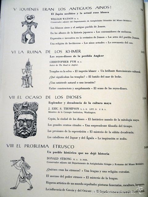 Libros de segunda mano: HISTORIA DE LAS CIVILIZACIONES - CIVILIZACIONES EXTINGUIDAS. Gran formato. - Foto 15 - 9988657