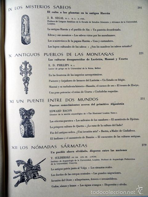 Libros de segunda mano: HISTORIA DE LAS CIVILIZACIONES - CIVILIZACIONES EXTINGUIDAS. Gran formato. - Foto 16 - 9988657