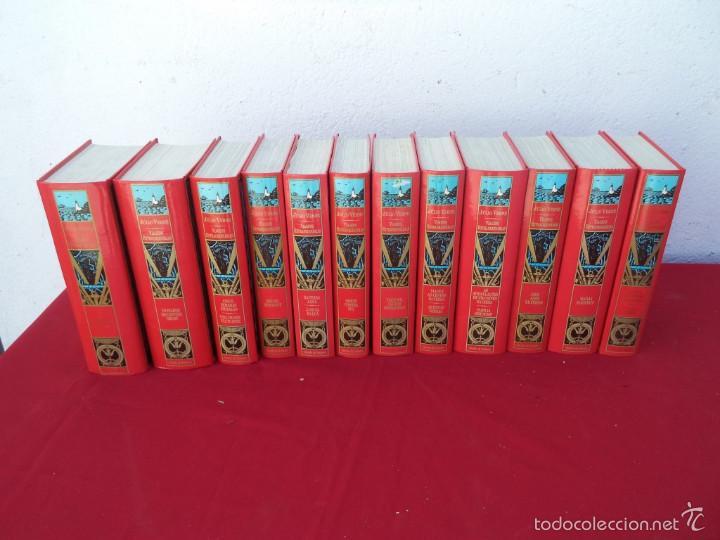 12 TOMOS DE JULIO VERNES 1997 EN PORTUGUES (Libros de Segunda Mano - Literatura Infantil y Juvenil - Otros)