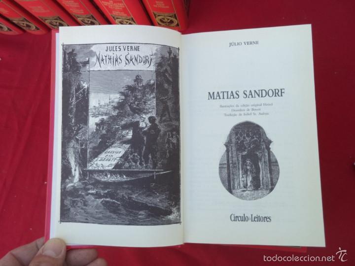 Libros de segunda mano: 12 tomos de julio vernes 1997 en portugues - Foto 3 - 56488130