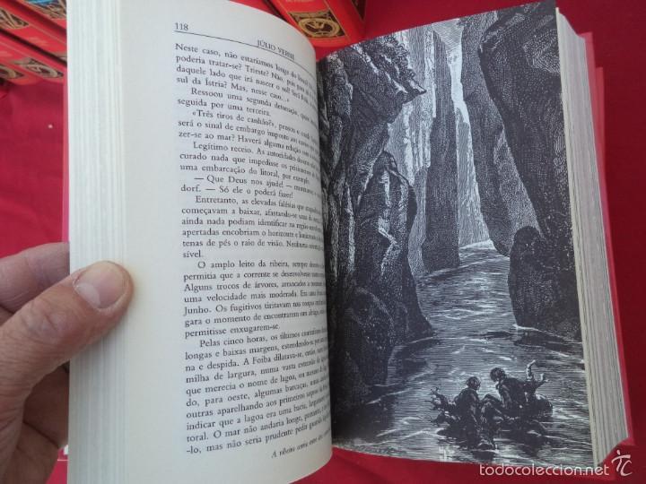 Libros de segunda mano: 12 tomos de julio vernes 1997 en portugues - Foto 4 - 56488130