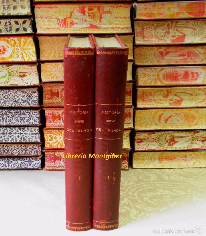 BREVE HISTORIA DEL MUNDO . 2 VOLS . AUTOR : BOLADERES, GUILLERMO DE (Libros de Segunda Mano - Historia - Otros)