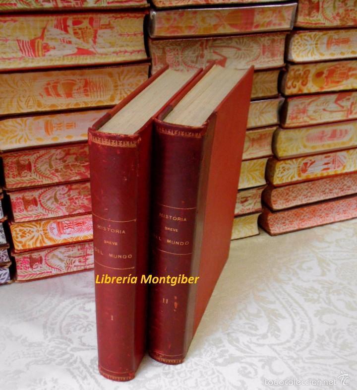 Libros de segunda mano: BREVE HISTORIA DEL MUNDO . 2 Vols . Autor : Boladeres, Guillermo de - Foto 2 - 56517170