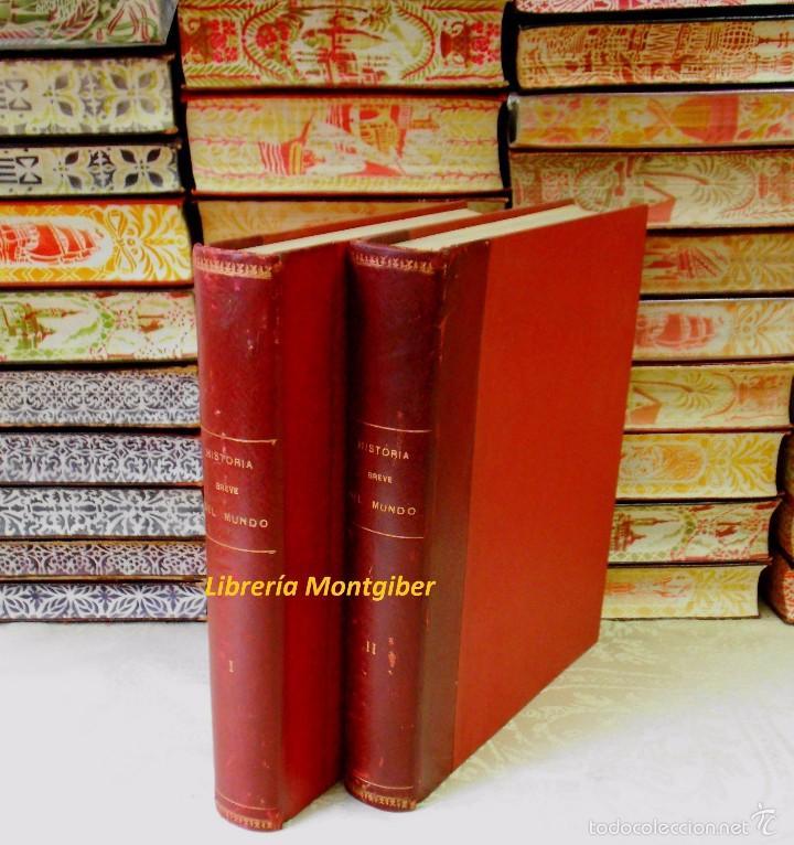 Libros de segunda mano: BREVE HISTORIA DEL MUNDO . 2 Vols . Autor : Boladeres, Guillermo de - Foto 7 - 56517170