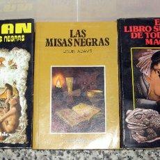 Libros de segunda mano: 3 LIBROS SATÁN Y LAS MISAS NEGRAS.LAS MISAS NEGRAS.EL LIBRO SUPREMO DE TODAS LAS MAGIAS. Lote 56534428