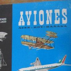 Libros de segunda mano: AVIONES DE ENZO ANGELUCCI (ARGOS). Lote 56536999